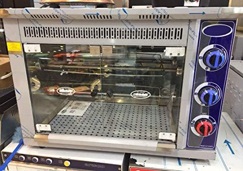 PROFESSIONAL Commercial Kitchen Equipment NATURAL GAS Countertop 9-Chicken Capacity Bird Turkey Chicken Rotisserie Roaster Oven Grill Machine
