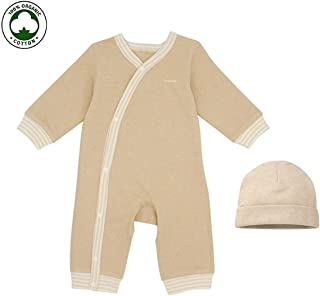Organic Toddler - Naturally Colored Organic Cotton Baby Onesie for Sensitive Skin