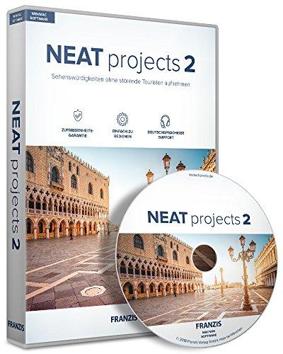 FRANZIS NEAT projects 2 |Fotos ohne störende Personen im Bild | für Windows PC und Mac |CD-ROM