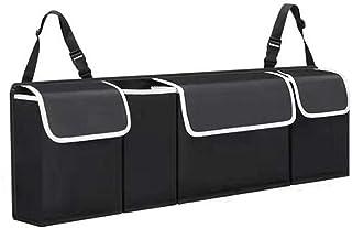 Cuteboom Kofferraum Organizer für SUV, Aufbewahrungstasche, tragbarer Gepäckbehälter für LKW, Gurt (neu)