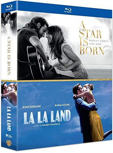 Coffret romance musicale 2 films : a star is born ; la la land