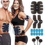 Rokoo Muscle Trainer Stimulateur Équipement de Stimulateur pour Homme Femme Maison Gym Bureau Noir
