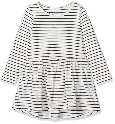 NAME IT Baby-Mädchen NITDINISE LS Dress F Mini Kleid, Rosa (Snow White), 98