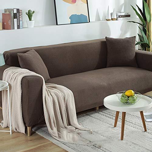 misshxh Universele Elastische Armchair Cover, Decoratieve Sofa Cover, Anti-slip Thuis Huisdier Cover, 1/2/3/4 Zitting, 1-6,1 Persoon 90-140Cm