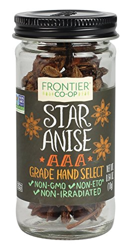 Frontier Natural Products Anise Star Select Whole, 0.64-Ounce