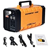 ECO-WORTHY Portable Power Station 300Watt/288Wh, 78000mAh Solar Generator UPS, CPAP Power Supply, Pure Sine Wave Lithium Battery Backup Recharged by Solar/AC Outlet/Car for Camping Travel Emergency