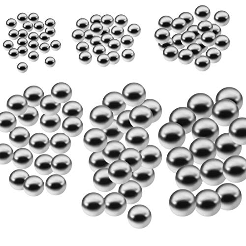 Formulaone 50 stücke Durable Fahrrad Edelstahl Ball Ersatzteile 4mm 5mm 6mm 8mm 9mm 10mm Fahrrad Fahrrad Stahl kugellager - 2
