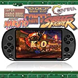 Handheld Game Console Portable,Built-in Free 2000 Retro Video Games,5.1 Inch LCD Screen Rechargeable Family Recreation for NES/GB/GBC/GBA/MD/PS1/Arcade Games,Present for Kids and Adult,Support MP4/TXT