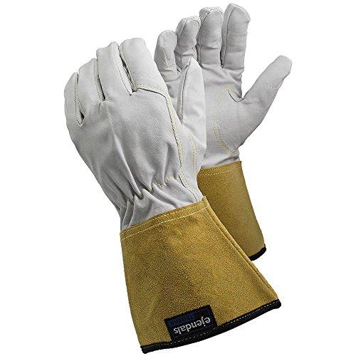Ejendals Hitzeschutzhandschuh Tegera 126, Größe 9, 1 Stück, weiß/gelb, 126-9