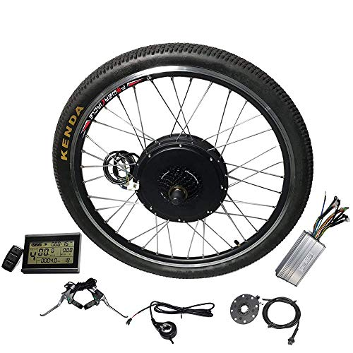 Electric Bike Kit 26inch Rear Hub Motor,48V E-Bike...