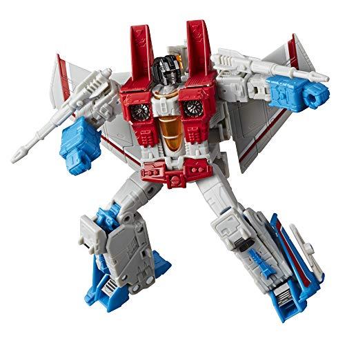 Transformers Zabawki wojna dla cybertrona: Earthrise Voyager WFC-E9 Starscream figurka akcji – dzieci w wieku 8 lat i góry, 17,5 cm