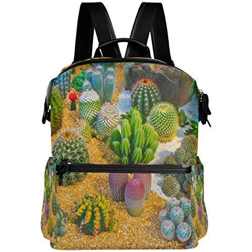 Oarencol suculentas mochila cactus coloridas plantas de arena maceta escolar bolsa de viaje senderismo camping portátil Daypack