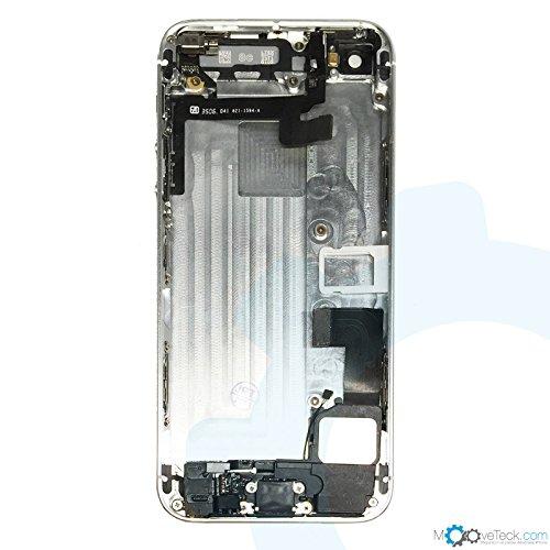 Chasis de repuesto para iPhone 5S, color blanco