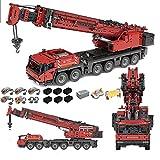BGOOD Technics Crane Turck Set compatible con Lego Technic, 4460 piezas 2.4G Control remoto dual Technic Grove GMK6400 III grúa con 5 motos, juego de construcción avanzado para adultos y niños