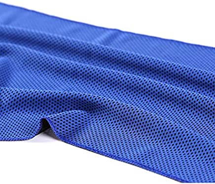 HibiscusElla Sports Gym Jogging Towel Enduring Running Instant Ice Cold Chilly Pad Cooling Towel