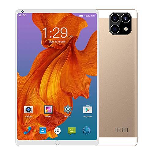 Tableta de 10 Pulgadas,Android 6.0,1 GB RAM + 16 GB ROM, Cámara Dual de 0.3MP + 2MP,Procesador Quad Core,Pantalla Táctil Full HD,WiFi Bluetooth GPS,Dual SIM