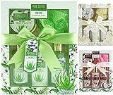 BRUBAKER Cosmetics - Coffret de bain & douche - Aloe vera - 5 Pièces - Idée cadeau