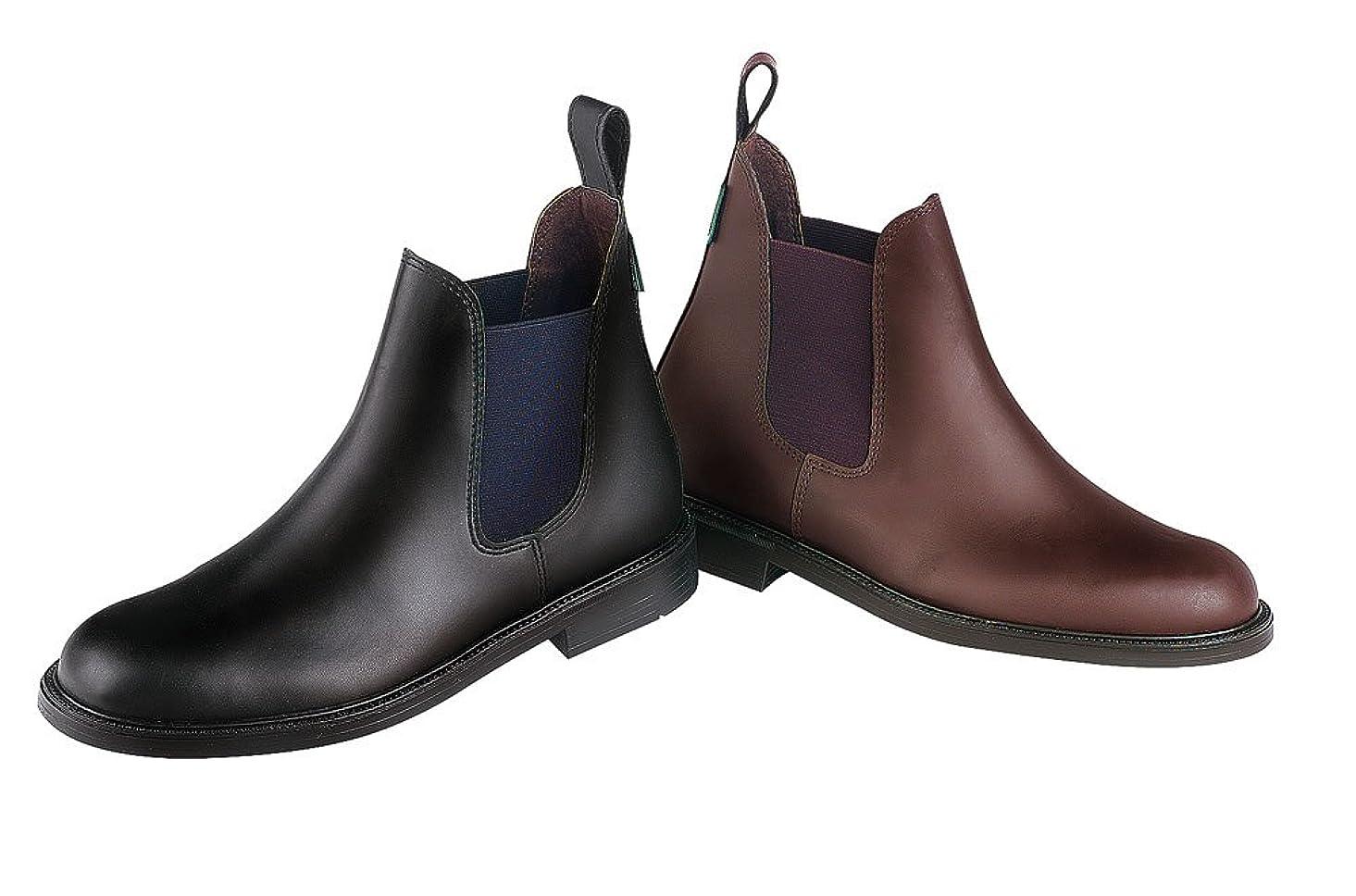 レイアウト整然とした動的EKKIA(エキア) 乗馬用ブーツ ブラック NORTON EPSON SYNT.BLK BOOTS 42 914002042 914002042