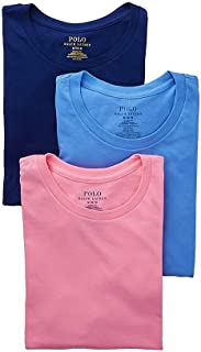 Classic Fit Cotton T-Shirt 3-Pack, M, Blue/Pink/Royal