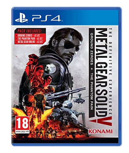 Metal Gear Solid V: The Definitive Experience - PlayStation 4 - [Edizione: Regno Unito]