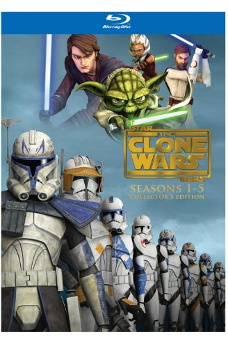 Star Wars: The Clone Wars - Seasons 1-5 (Collector
