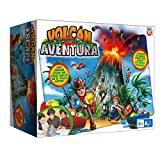 Play Fun Volcán Aventura - Juego de Mesa familiar divertido para adultos y Niños a partir de 6...