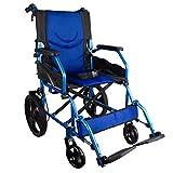 ADAPTABLE: para garantizar la comodidad, la silla de ruedas modelo Pirámide tiene reposapiés desmontables y giratorios. Posee un asiento de 46 cm. ULTRA LIGERA: silla de ruedas de aluminio por lo que su peso es muy reducido, ideal para aquellos que n...
