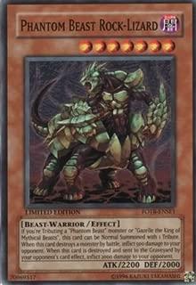 Yu-Gi-Oh! - Phantom Beast Rock-Lizard (FOTB-ENSE1) - Force of the Breaker: Special Edition Promos - Promo Edition - Super Rare