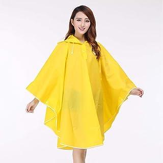 MSYL Outdoor Walking Travel Adult Portable Korean style Transparent Raincoat Cloak Female Cloak Poncho