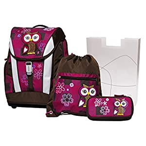 51Yw+JZ0yPL. SS300  - Angry Birds School Backpack Set 4/1 Soft Owl 78405 Mochila Infantil 40 Centimeters 24 Multicolor (Violet and Brown)