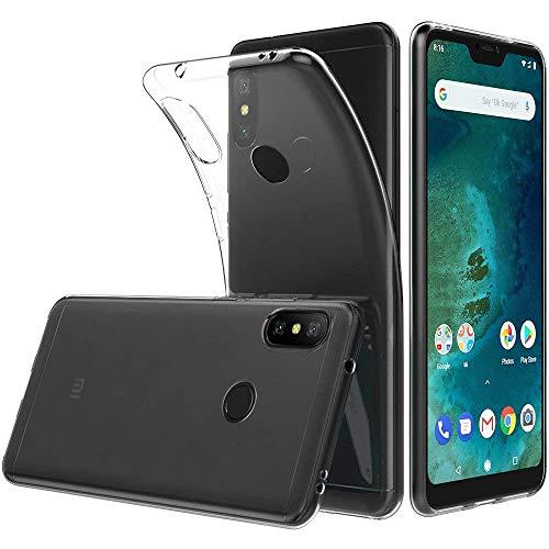 LuluMain Funda Xiaomi Mi A2 Lite TPU Transparente Slim Silicona Case Cover [Anti-arañazos] para Xiaomi Mi A2 Lite, Redmi 6 Pro