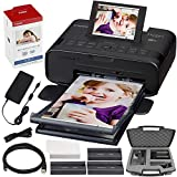 Canon SELPHY CP1300 Compact Photo Printer (Black) with WiFi w/Canon Color Ink...