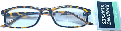 discount Foster Grant Women's Rectangular Reading Glasses Tortoise outlet online sale Brown new arrival +1.50 outlet online sale