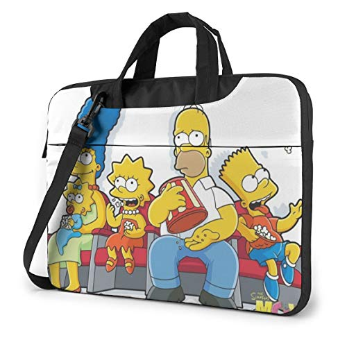 Simpsons Laptop Sleeve Bag Case 13 inch MacBook Air Pro Notebook Sleeve Case Portable Briefcase Tote Cases