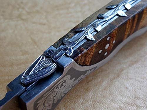 Laguiole Taschenmesser Outdoormesser Designer-Messer EINZIGARTIG (4165)