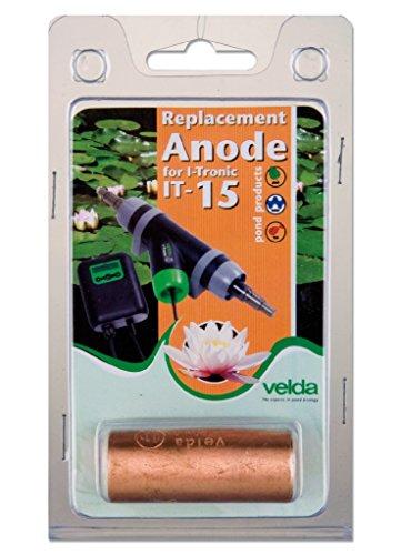Velda 126690 Ersatz-Kupferanode für Elektronische Entferner gegen Faden- und Schleimalgen T-Flow 15