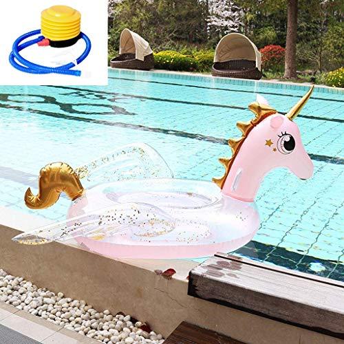 Aufblasbares Schwimmendes Bett,Aufblasbare Pegasus Luftmatratze,des Sommers Aufblasbare Spielzeuge,Sommer Outdoor Beach Party,Strand,Spielzeug für Erwachsene und Kinder