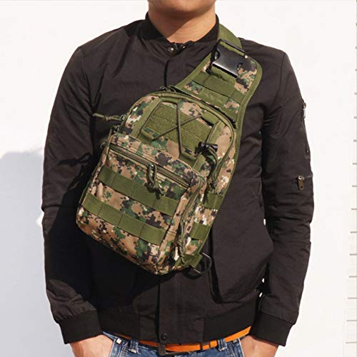 CGMZN Sac à Dos Outdoor Sports Bag Climbing Backpack Shoulder Bag Hiking Camping Camouflage Backpack Chest Bag