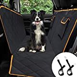 🌟【MATERIAL IMPERMEABLE & ANTIDESLIANTE】 El protector de coche para perros está fabricado con material de tela resistente, con alta resistencia al rozamiento para envitar el daño a su coche durante la carga o descarga. La cubierta de asiento de perro ...