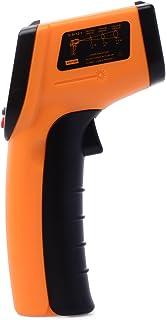Xcellent Global kontaktfreies Infrarot Thermometer   Strapazierbare Digital Handheld IR Pistole mit Laser Pointer M HG021