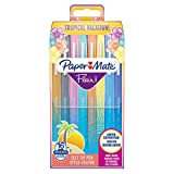 PAPER MATE 10191 Feutre Écriture Flair Tropical Pointe Moyenne Lot de 16 Assorties