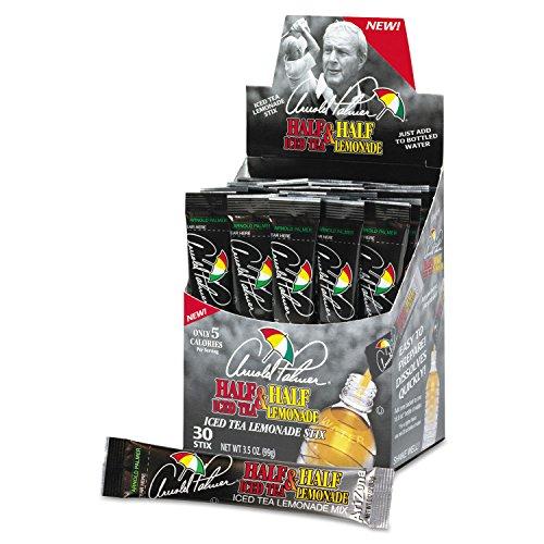 Arizona Arnold Palmer mitad y mitad te helado–Limonada polvo Stix, 30paquetes/caja