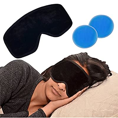 Medipaq® Deluxe Magnetic Gel Eye Mask - Reduce Swelling, Dark Circles, Wrinkles, Migraines or Tired Puffy Eyes