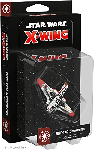 Fantasy Flight Games FFGSWZ33 Star Wars X-Wing 2nd Edition: ARC-170 Starfighter Erweiterungspack