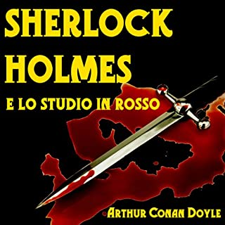 Sherlock Holmes e lo Studio in Rosso copertina