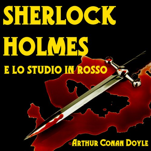 Sherlock Holmes e lo Studio in Rosso [Sherlock Holmes and the Studio in Red] audiobook cover art