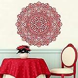 wukongsun Premium Hindu Mandala Indien Runde Aufkleber Wandaufkleber Hauptdekorationen Wohnzimmer...