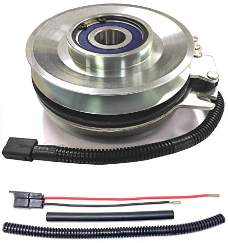 Xtreme Outdoor Power Equipment Bundle - 2 Items: PTO Electric Blade Clutch, Wire Harness Repair Kit. X0243 Replaces Warner Big Dog 5218-110 Fatboy PTO Clutch -w/Harness Repair Kit