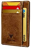 Fashion Freak® Credit Card Holder - RFID Blocking Slim Wallet - Leather Wallet