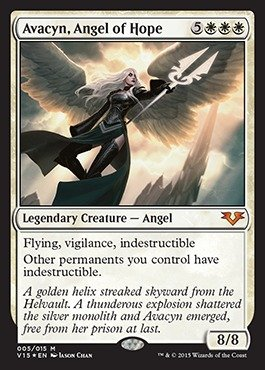 Magic: the Gathering - Avacyn, Angel of Hope (005/015) - From the Vault: Angels - Foil by Magic: the Gathering